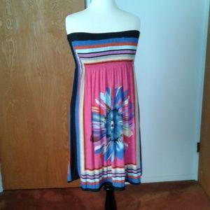designer Dresses - Multi color tube dress NNW